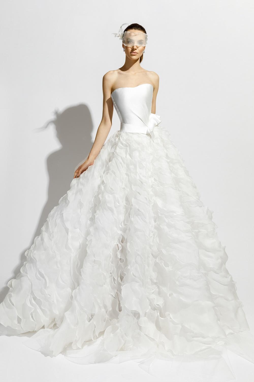 2018 m. vestuvinių suknelių kolekcija